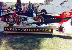 For Randy & Scott.and their Bonneville News ! Burt Munro, Indian Scout, Old Toys, Police, Monster Trucks, Salt, Spirit, Racing, Bike