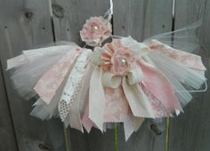 Tutu, fabric tutu, vintage tutu, tutu with burlap flower, tutu with matching headband, shabby chic tutu  https://www.etsy.com/listing/164431477/handmade-shabby-tutu-fabric-tutu-newborn?ref=shop_home_active_1