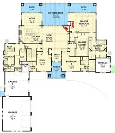 Mountain House Plan with Optional Lower Level - 64413SC | Architectural Designs - House Plans