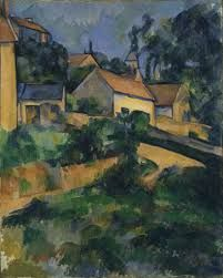 """Strada a Montgeroult"", olio su tela, New York, The Museum of Modern Art, 1898."