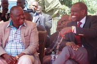 RAILA will never be President; its either me or RUTO who will occupy State House after UHURU