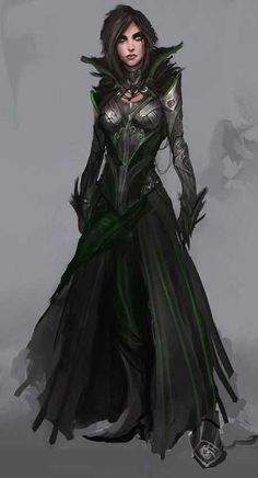Have yourself some character art. Dark Fantasy, Fantasy Armor, Fantasy Women, Medieval Fantasy, Elves Fantasy, Dungeons And Dragons Characters, Dnd Characters, Fantasy Characters, Female Characters