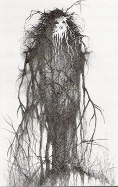 "Stephen Gammell Artwork | Scary Stories to Tell in The Dark"", a children's horror book."