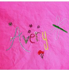totted embroidery