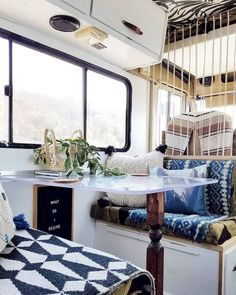An RV camper interior renovation ideas is a superb way of traveling comfortably. It's now prepared for the client to enjoy camping at the VW indicates he is planning to attend! RV Camping is an immense family experience. Rv Interior, Interior Decorating, Interior Design, Interior Ideas, Campervan Interior, Rv Campers, Happy Campers, Camper Life, Camper Trailers