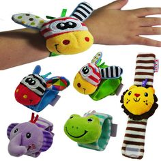 Baby Plush Wristband Bell By Two