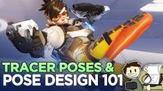 Tracer & Pose Design 101 - The Animation of Overwatch - Extra Frames