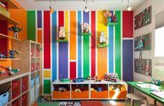Bunte Kinderzimmer #alternative #dekoration #farbe #ideen #Kind #kinder # Kinderzimmer