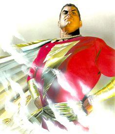 Captain Marvel, by Alex Ross