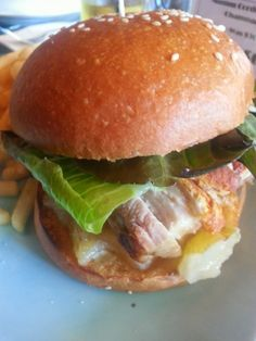 What would Martha do : Pork Belly Burger from Father's Office Speakeasy Bar and Restaurant in Melbourne #fathersoffice #melbourne