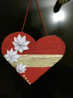 It is a beautiful craft and very easy to make it makes our house beautiful and gives a positive attitude. 😀