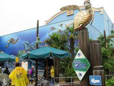 all time favorite ride Crush's Coaster Disneyland Paris Hollywood Studios