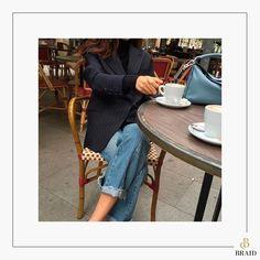 A elegância e poder do jeans. #braid #denim #fashion #jeans #lookdodia #style http://www.butimag.com/fashion/post/1482570104571393419_1474976283/?code=BSTJae1l3WL