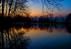 Pymatuning Lake has the most beautiful sunrises and sunsets