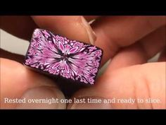 Shape-shifting Polymer Clay Canes: A SquarePair Demo - YouTube