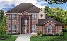 House Plan 87970 | European    Plan with 2795 Sq. Ft., 3 Bedrooms, 3 Bathrooms, 2 Car Garage