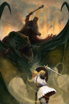 Éowyn: maior mulher que vc respeita