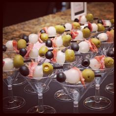 Martini Appetizers via @HostessTori