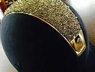 Samshield premium helmet + option chrome gold + option medley gold