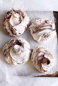 Chocolate Cinnamon Meringue Cookies Recipe