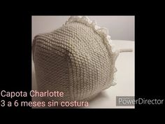 Capota Charlotte sin costuras de 3 a 6 meses. Muy fácil por @rocioluquecontreras - YouTube Crochet Baby Hat Patterns, Crochet Baby Hats, Crochet Stitches, Knit Crochet, Tricot Baby, Baby Barn, Knitted Booties, Baby Cardigan, Kids Coats