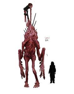 Shadow Monster, Monster Art, Creature Concept Art, Weapon Concept Art, Creature Feature, Creature Design, Character Art, Character Design, Alien Design