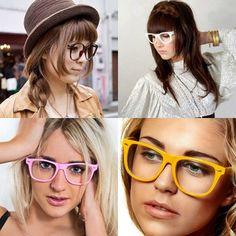 A moda dos óculos sem lentes, a Fashion Nerd, começou no Japão e continua se espalhando pelo mundo, provando que além de saúde, óculos é moda e acessório. Mesmo quem não precisa de lentes corretivas, quer usar!  Parece que não vai acabar tão cedo, o que você acha?  https://www.facebook.com/photo.php?fbid=671641362855055&set=a.601405359878656.1073741831.541297435889449&type=1&theater