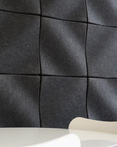 Solve sound & noise control issues while making your home or office look great. Acustic Panels, Soundproofing Walls, Acoustic Wall Panels, Commercial Office Design, Room Acoustics, Wall Panel Design, Drum Room, Acoustic Design, Massage Room