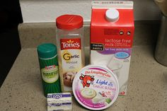 Laughing Cow Alfredo Sauce 1 cup fat free milk 6 wedges of Laughing Cow Light…