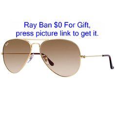 889bda7a790 Ray-Ban Aviator Gradient Gold
