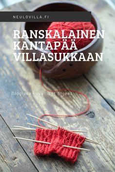 Knitting Stitches, Knitting Socks, Hand Knitting, Crochet Socks, Knit Crochet, Patterned Socks, Yarn Crafts, Mittens, Crochet Necklace