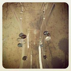 Sterling Silver Moonshine Earrings  19.00
