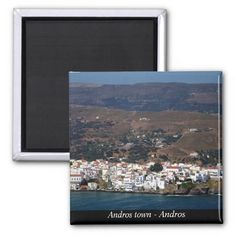 Andros town - Andros Magnets
