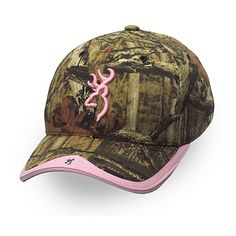 Browning Gunner Camo Hat - Mossy Oak Infinity & Pink
