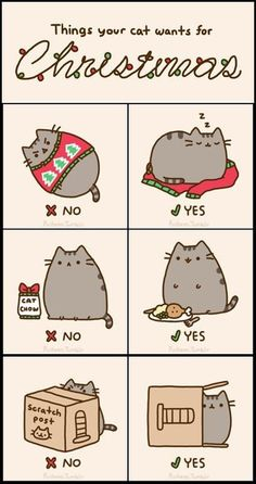 what cats want for xmas ... Love this!