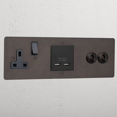 BEDSIDE 1MOD 1G 13AS 2TOG – Corston Metals Die Cast, Color Switch, Toggle Light Switch, Switch Plates, Incandescent Bulbs, Weekend Is Over, Bedside, Bronze, Bedroom