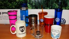 Stocking stuffers 2013 - VW travel mugs and coffee cups. Available at the Denver Volkswagen location of Larry H. Miller Volkswagen, 8303 W. Colfax Ave, Lakewood, CO 80214, 866-871-8292.