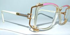 Vintage CAZAL Eyeglasses with case  Vintage by ifoundgallery, $175.00