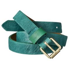 Merona Emerald Hair-on Belt. Color Of The Year Emerald Hair, Target Clothes, Women Accessories, Fashion Accessories, Fresh Flower Delivery, Plus Size Outerwear, Teal, Turquoise, Oh My Love