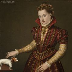 kiszkiloszki — Portrait of a Noblewoman by Lavinia Fontana (ca. Renaissance Memes, Renaissance Art, Gif Photo, Photo Art, Gifs, Art Optical, Optical Illusions, Danse Macabre, Unusual Art
