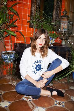 The Alexa Chung x AG Jeans collection
