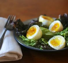 Foolproof soft boiled eggs