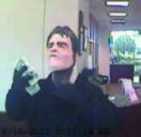 Suspect in a Sept. 18, 2012, robbery at the Bank Annapolis at 1000 Bestgate Road