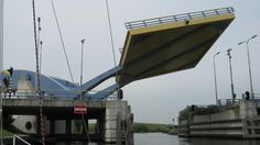 "Slauerfioffbrug Bridge, ""Flying Drawbridge"", Netherlands"