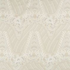 Beacon Hill's Silk Ocean fabric in Silver Gold #fabric #design #upholstery:
