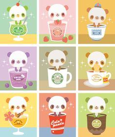 Pandas in Drinks