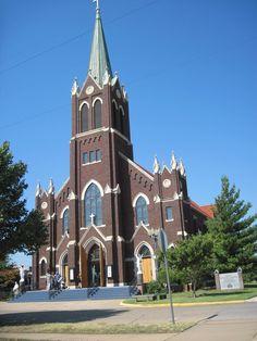 St. Francis Xavier Catholic Church Enid Oklahoma Where I'm getting married:)