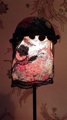 Lampshade/lampenkapje Jardin de Mme Raclot la door MargrietThissen
