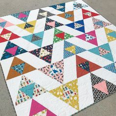 Suzy Quilts free pattern : Bird Watching - in cotton + steel spectacle