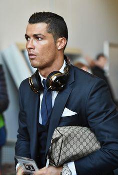 Cristiano Ronaldo Photos - VfL Wolfsburg v Real Madrid CF - UEFA Champions League Quarter Final: First Leg - Zimbio